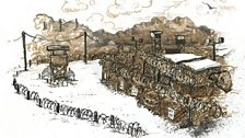 Molly Crabapple's Guantanamo pictures