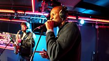 Giggs in the Live Lounge