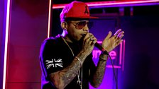 Kid Ink in the Live Lounge