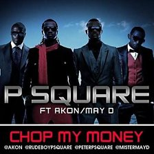 Cover art for Chop My Money (feat. Akon & May D)