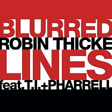 Cover art for Blurred Lines (feat. T.I. & Pharrell)