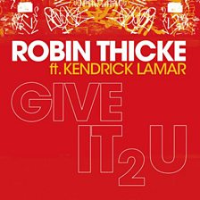 Cover art for Give It 2 U (feat. Kendrick Lamar)