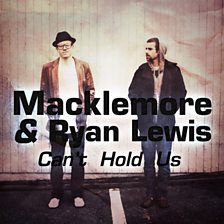 Cover art for Can't Hold Us (feat. Ryan Lewis & Ray Dalton)