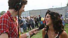Radio 1 - Greg catches up with Marina and the Diamonds