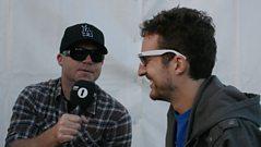 Radio 1 - Backstage with Frank Turner