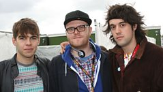 Radio 1 - Backstage with Klaxons