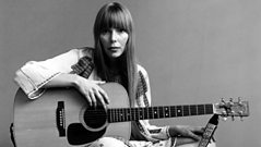 Joni Mitchell talks about starting her musical career