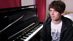 James Blake meets BBC News