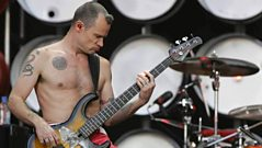 Anthony Keadis and Flea reflect on the death of their guitarist,