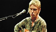 Paul Weller answers questions about his songs from a studio audience
