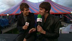 Reading and Leeds Festival: 2011 - Gregg James and Miles Kane