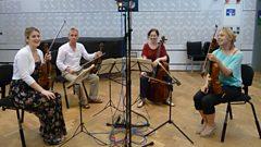 "String Quartet in D major, op. 64 no. 5, Hob. III:63 ""The Lark"""