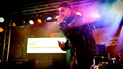 Shide Boss performs on the BBC Introducing Stage