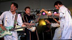 Dingus Khan at Reading Festival 2012