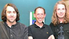 The Vaccines join Steve Lamacq