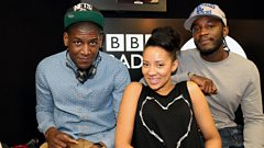 Labrinth chats with Twin B and Yasmin