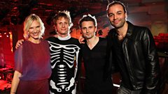 Muse chat about their intimate Radio 2 gig