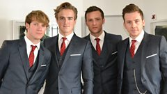 McFly chat to Graham Norton