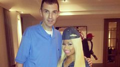 Nicki Minaj chats to Westwood