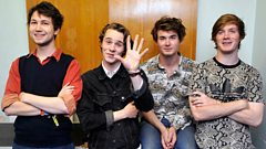 Palma Violets talk to Huw Stephens and play live from Maida Vale