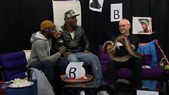 Lethal B & massive snake