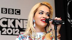 Rita Ora joins Dermot O'Leary in the studio