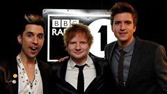 Ed Sheeran at the BRITs