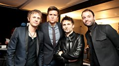 Muse at the BRITs