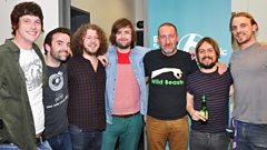 The Travelling Band speak to Marc Riley
