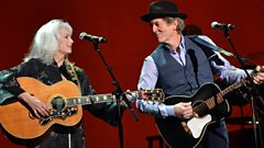 Emmylou Harris and Rodney Crowell speak to Bob Harris