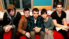 Little Green Cars chat to Steve Lamacq