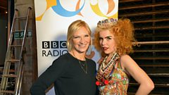 Paloma Faith chats with Jo Whiley