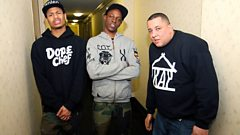 The Underachievers talk to Semtex in Brooklyn!