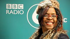 Betty Wright chats to Craig Charles