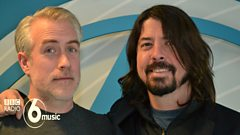 Dave Grohl talks to Matt Everitt about Sound City