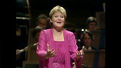 Karita Mattila sings Weber