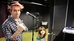 Gabrielle Aplin - Please Download My Record in the Live Lounge with Grimmy