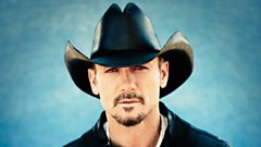 Country music superstar Tim McGraw