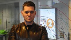 Michael Buble chats to Steve Wright