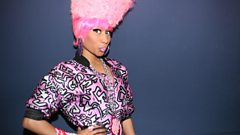 Nicki Minaj chats with Charlie Sloth