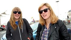 Jess Clavin from Bleached talks to Nemone