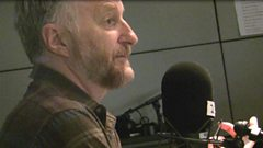 Billy Bragg charms Mary Anne.