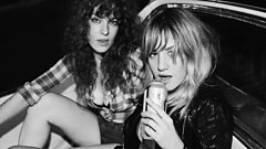 Deap Vally in conversation with Steve Lamacq