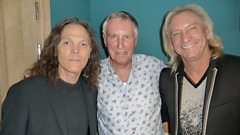 Johnnie Walker chats to The Eagles