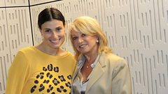 Idina Menzel speaks to Elaine Paige