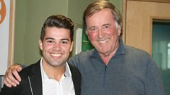 Joe McElderry joins Sir Terry in the studio