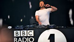 Danny Howard at Radio 1's Big Weekend 2013