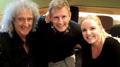 Brian May and Kerry Ellis catch up with Patrick Kielty