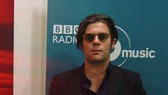 Ed Harcourt chats with Mark and Stuart