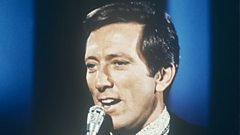 Andy Williams is inducted into Michael Ball's Singers Hall of Fame